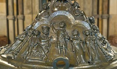 Taufbecken aus Hildesheimer Dom: Kindermord von Bethlehem