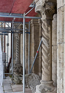 Königslutter, Dom: Portal des nördl. Seitenschiffs, Detail