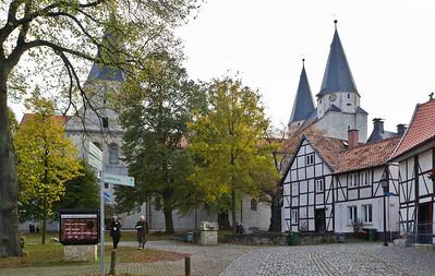 """Königslutter, """"Kaiserdom"""" St. Peter und Paul von Norden"""