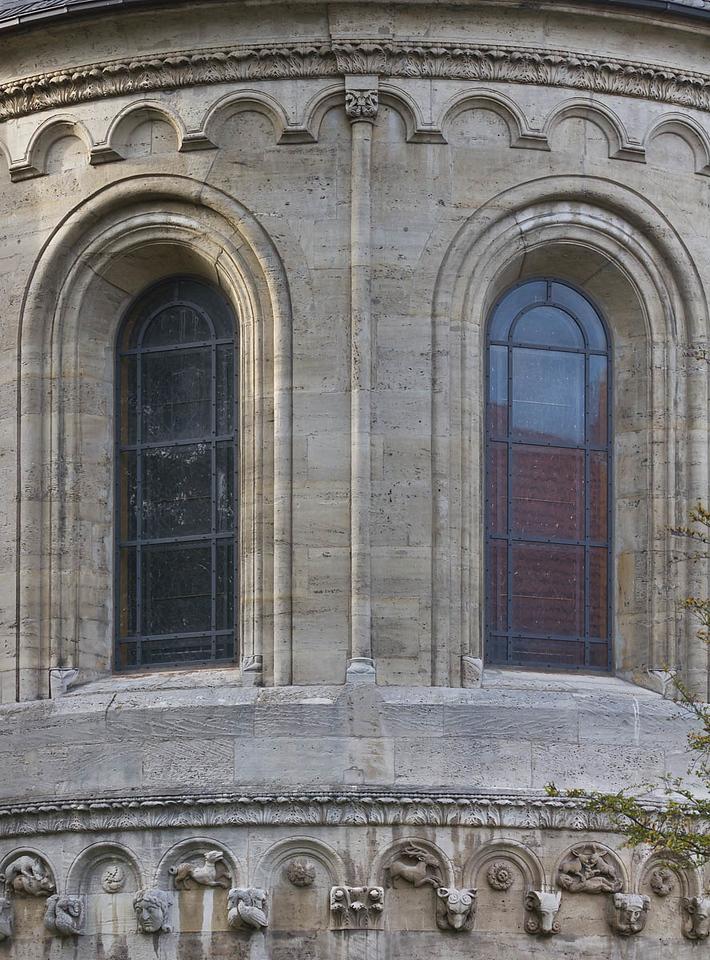 Königslutter, Dom: Ostapsis, Detail