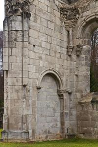 Walkenried, Klosterkirche. Südl. Nebenchor, Detail