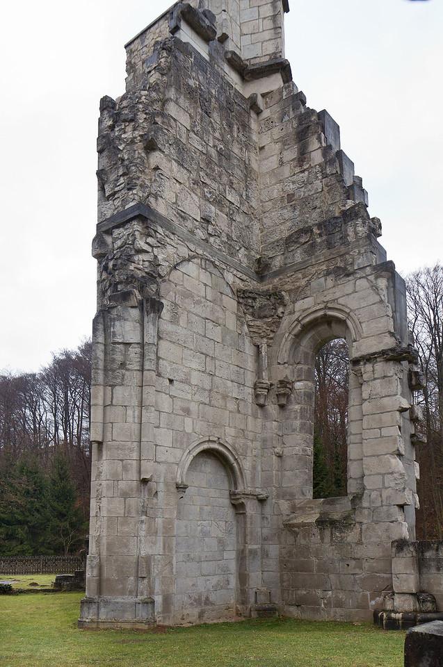 Walkenried, Klosterkirche. Südl. Nebenchor von Westen