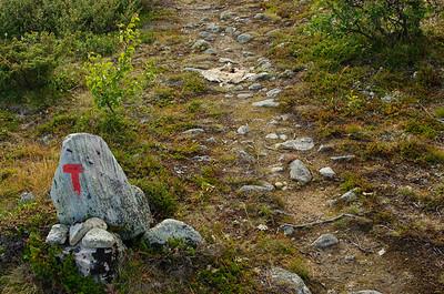 Auf dem Weg zu Oskampen-Hütte