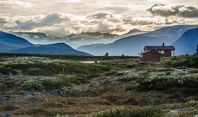 Oskampen-Hütte imt Jotunheimem
