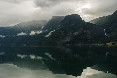 Luster Fjordcamping - Morgenstimmung