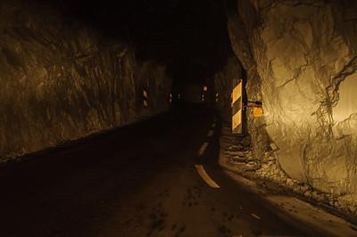 Tunnel auf dem Weg zum Austerdalen - Licht wird überbewertet