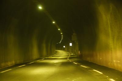 Tunnel auf dem Weg zum Austerdalen