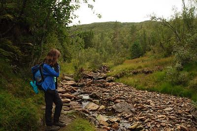 Wanderung Richtung  Høgabu von Thorsten
