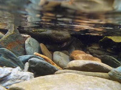 Steinsdalfossen - Im Wasser von Elisabeth