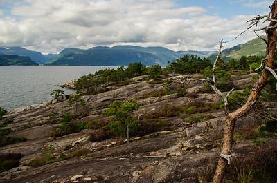 Rastplatz am Fjord von Thorsten