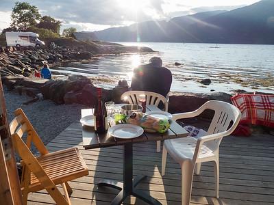Abendessen mit Fjordblick von Kerstin