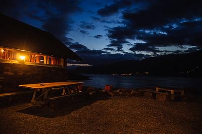 Abendstimmung am Campingplatz von Thorsten