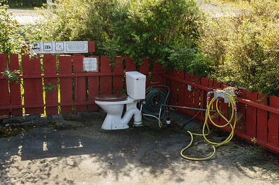 Gemütliche Toilette  von Thorsten