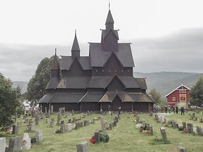 Heddal Stavkirke von Elisabeth