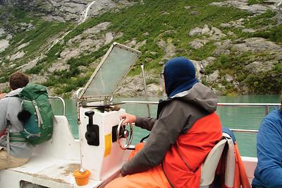 Nigardsbreen - Überfahrt über den Gletschersee