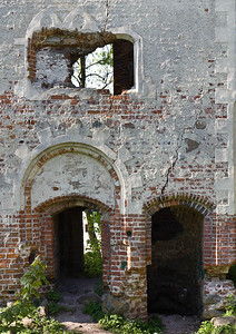 Dobra/Daber, Ruine Dewitzburg