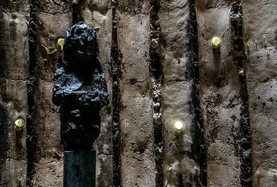 Bruder-Klaus-Kapelle Wachendorf: Bruder-Klaus-Skulptur von Hans Josephson (Peter Zumthor 2007)