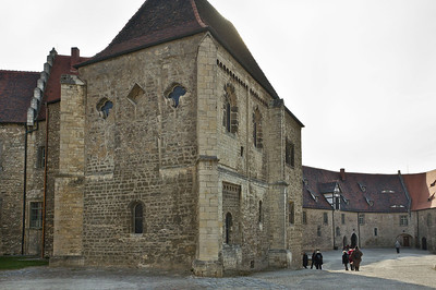 Freyburg, Schloss Neuenburg. Burgkapelle von Nordost