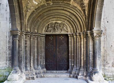 Freyburg, Stadtkirche St. Marien, Westportal