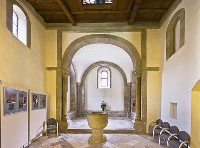 Freyburg, Schloss Neuenburg. Untere Burgkapelle