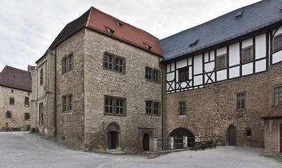 Freyburg, Schloss Neuenburg. Burgkapelle und Löwentorhaus