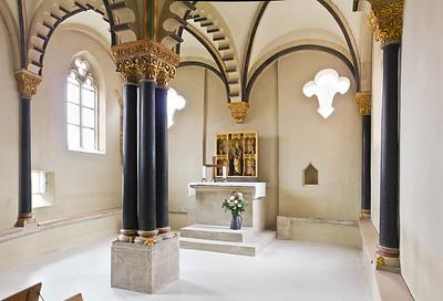 Freyburg, Schloss Neuenburg. Obere Burgkapelle