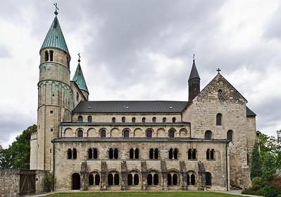 Gernrode, St. Cyriakus von Süden