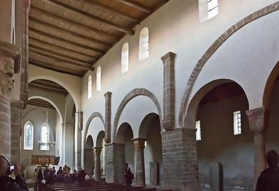 Drübeck, St. Vitus: Längsschiff nach Südosten