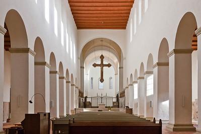 Halberstadt, Liebfrauenkirche. Inneres nach Osten