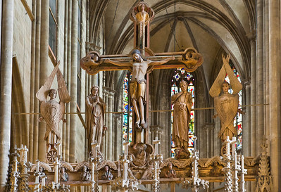 Halberstadt, Dom. Triumphkreuz (1220)