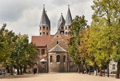 Halberstadt, Liebfrauenkirche von Osten (Domplatz)