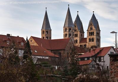 Halberstadt, Liebfrauenkirche von Nordosten