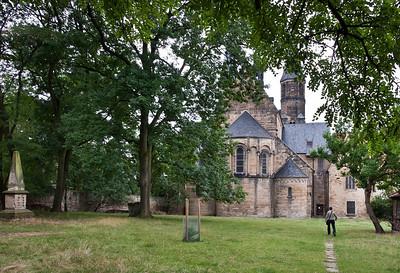 Hamersleben, St. Pankratius von Osten