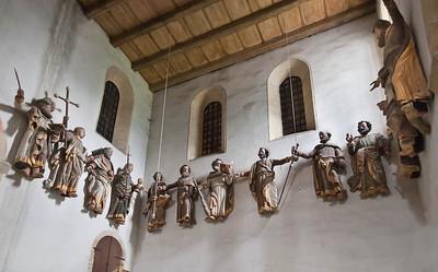Hamersleben, St. Pankratius. barocke Apostel im nördl. Querarm (ursprgl. im Mittelschiff)