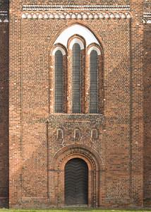 Jerichow, Stiftskirche: Westbau, Mittelteil