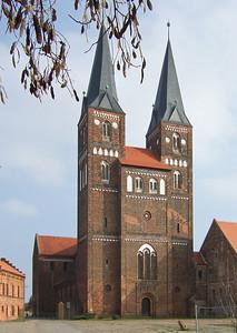 Jerichow, Stiftskirche: Ansicht Westen
