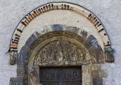 Landsberg/Saale, Doppelkapelle. Nordportal, Detail
