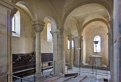 Landsberg/Saale, Doppelkapelle. Obere Kapelle, Mittelschiff nach Nordosten