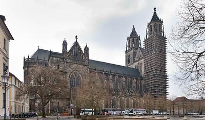 Magdeburg, Dom von Norden
