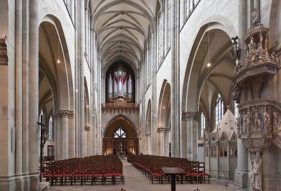 Magdeburg, Dom. Innenansicht nach Westen