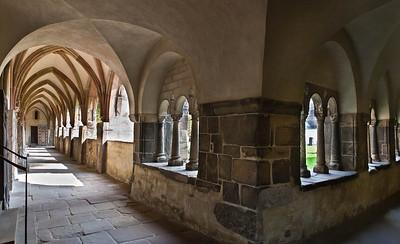 Magdeburg, Dom. Südwestecke des Kreuzgangs
