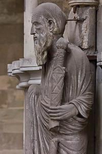 Magdeburg, Dom. Apostel Paulus im Chor, Detail