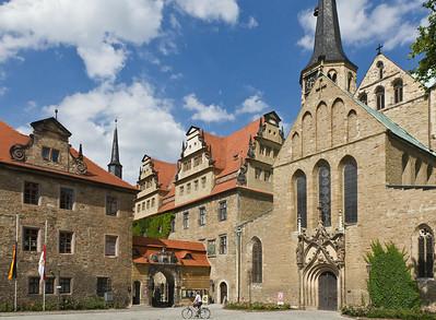 Merseburg, Dom, Westseite