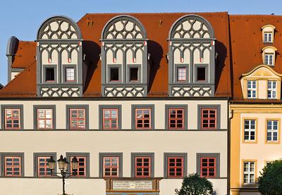 Naumburg, Markt. Dachaufbauten