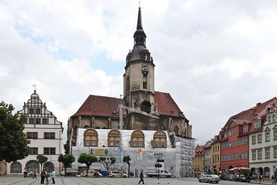 Naumburg, Markt, Stadtkirche St. Wenzel