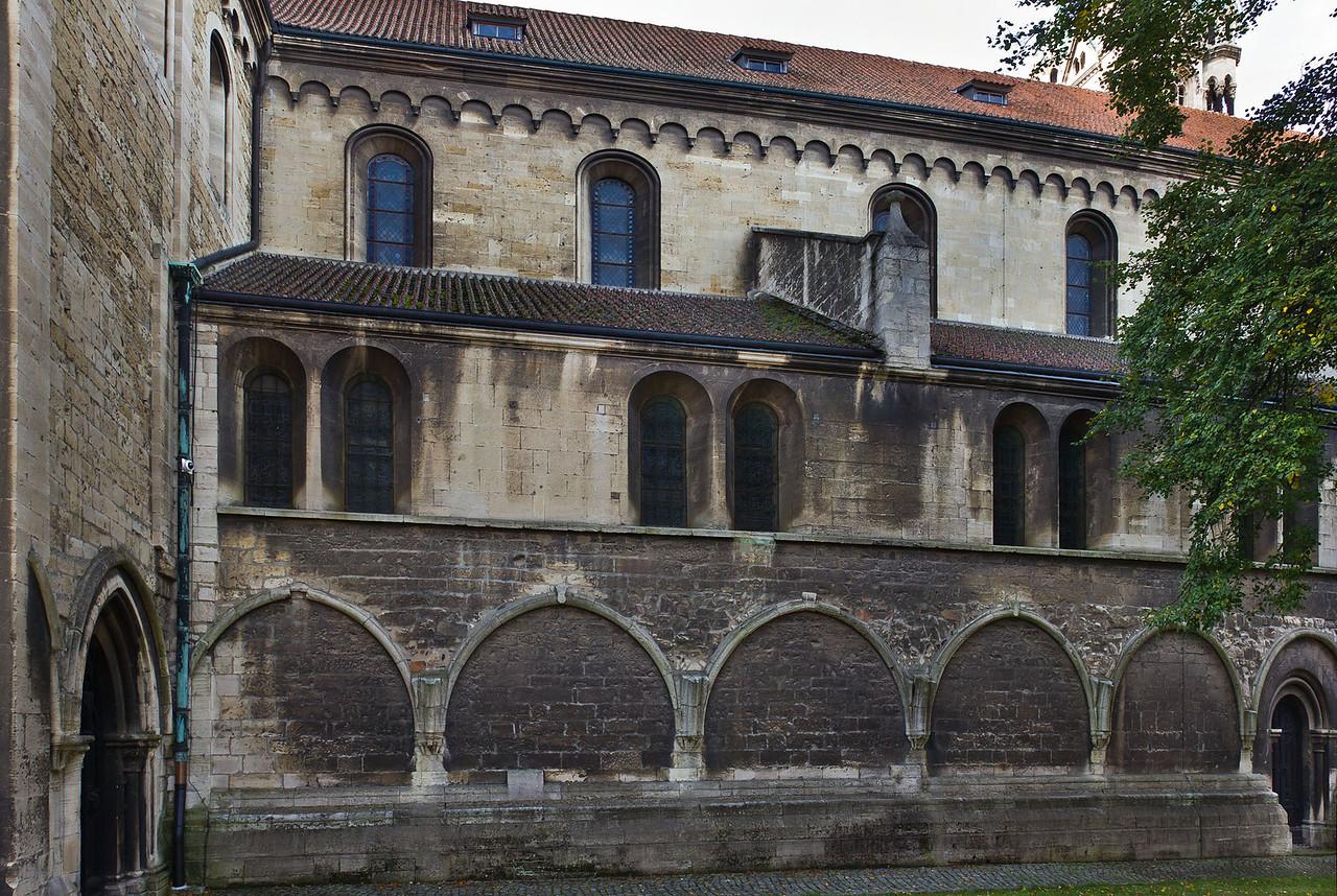 Naumburg, Dom: Nordfassade
