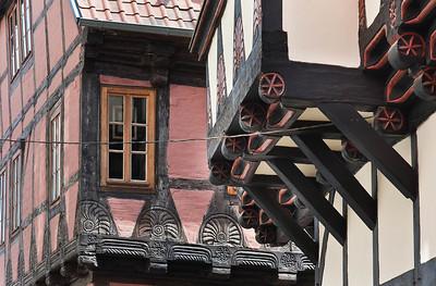 Quedlinburg: Fachwerk-Eindruck