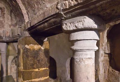Quedlinburg: St. Wiperti, Krypta, Pilzkapitell