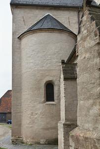 Sangerhausen, St. Ulrici. Apsis des südl. Querschiffs