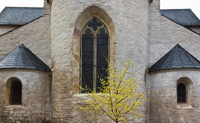Sangerhausen, St. Ulrici. Chor von Osten, Detail
